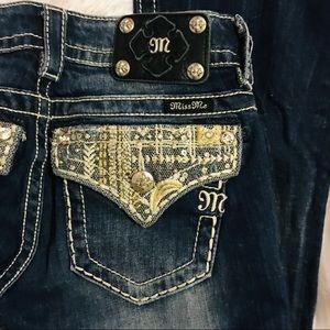 Miss Me Jeans - Miss Me Jeans Signature boot sz 26 EUC